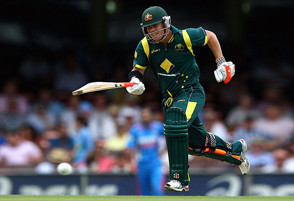 warner 163 helps aus win first final despite lankan