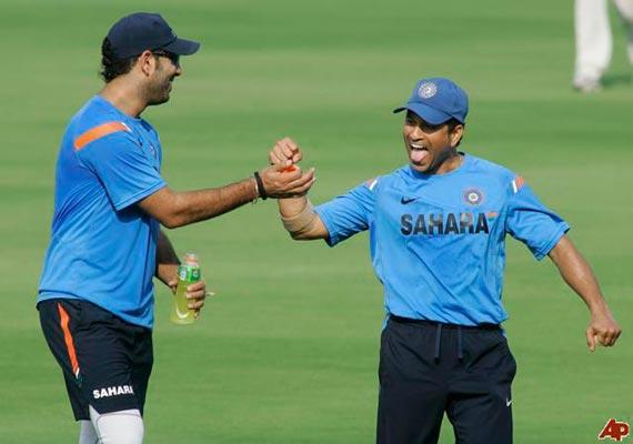 champion yuvraj has set an example says sachin tendulkar