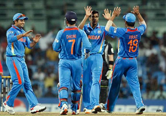 india crush new zealand by 117 runs in final warm up match