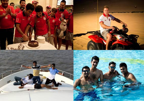 ipl 7 check out behind the scene pics of kings xi punjab