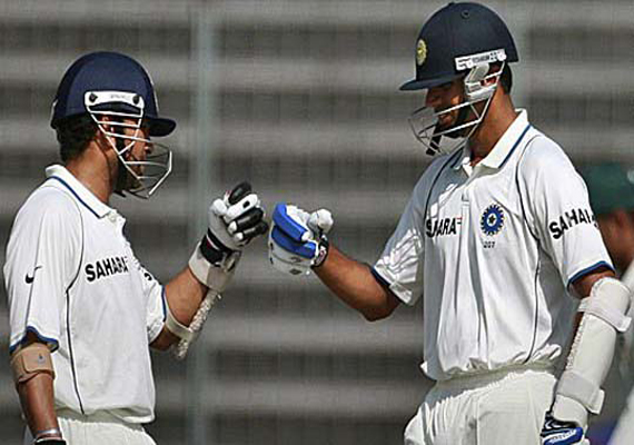 i ll miss dravid in the dressing room says sachin