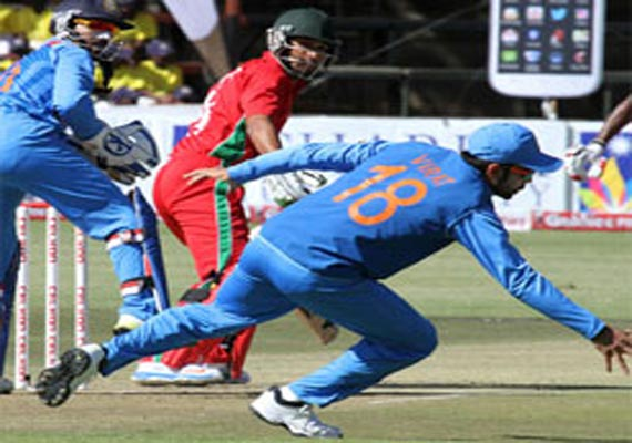 zimbabwe odi series india takes 3 0 lead win by 7 wickets