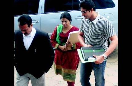 kumble s wife fined in custody case