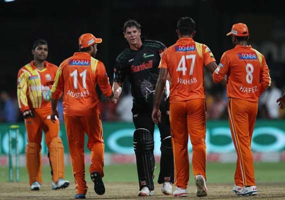 clt20 match 14 lahore lions outplayed dolphins to stay alive