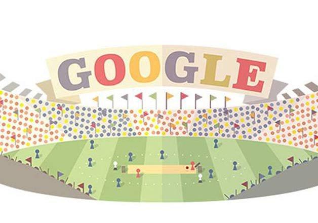 Google Doodle Marks World T20 Beginning Cricket News