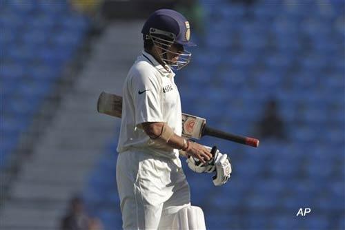 tendulkar misses out on 50th test century again