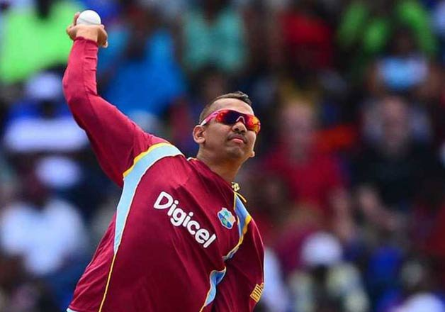 windies spinner sunil narine suspended for illegal action
