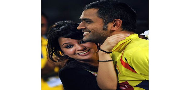 jab they met how dhoni texted sakshi and started dating