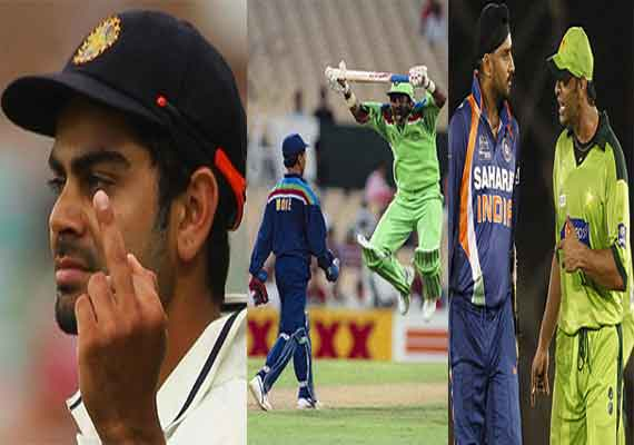 know the most short tempered cricketers