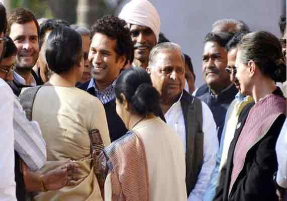 sachin tendulkar criticized for skipping parliament