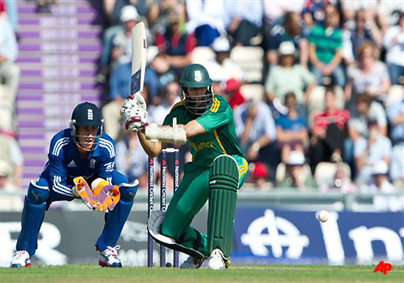 south africa posts 287 5 against england at rose bowl