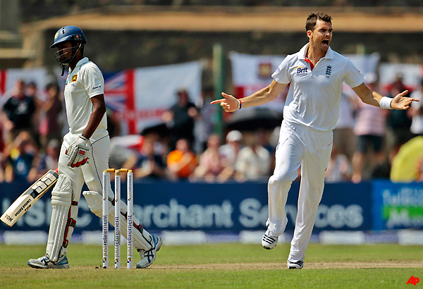 sri lanka reaches 289 8 against england in 1st test