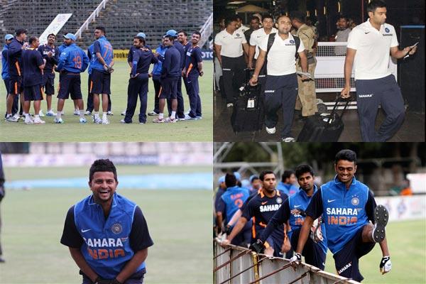 team india prepares for zimbabwe series watch pics