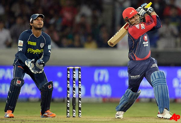 Unbelievable Knock From Sehwag Keeps Delhi In The Hunt   Cricket News – India TV