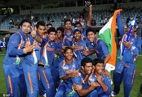 you are sports stars of tomorrow pm to u 19 team