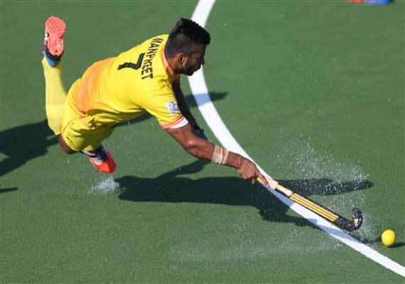 cwg india men s hockey team opens account