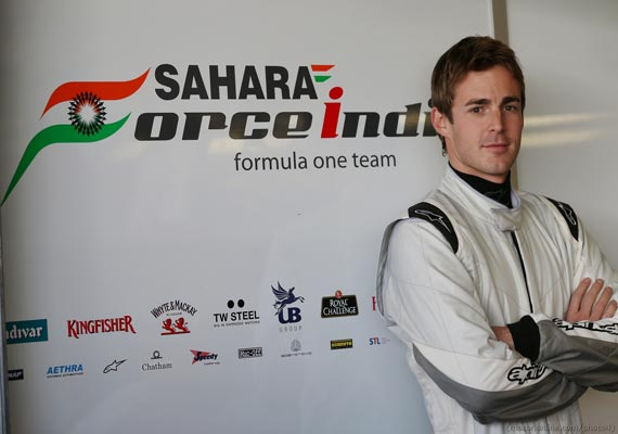 force india s rossiter to drive in british gp practice