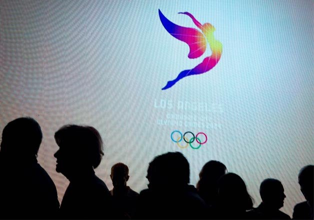 los angeles unveils 2024 olympic games logo