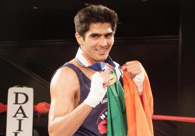 boxer vijender singh wants to try his luck for padma bhushan