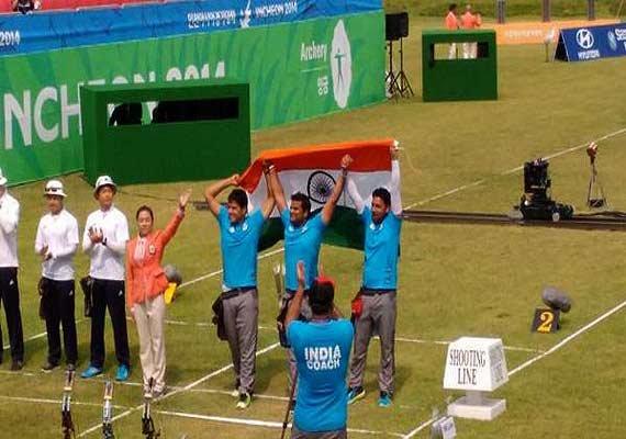 asian games indian men s team wins compound archery gold