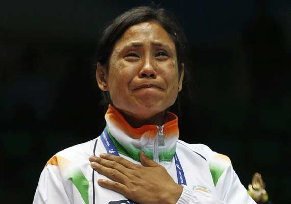 sarita devi determined to win an olympic medal