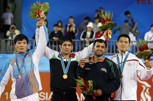 india win medals in greco roman wrestling after 30 years