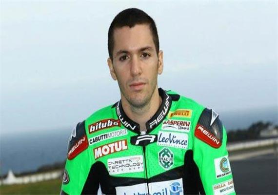 italian superbike racer dies in fatal crash
