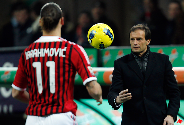 allegri wary of arsenal attack in champions league