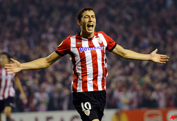 athletic bilbao knocks manchester united out of europa