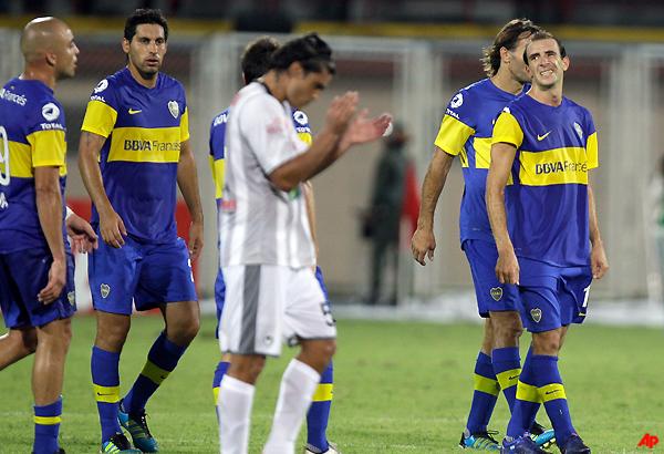 boca struggles to 0 0 draw against union