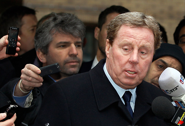 cleared by jury redknapp in line for england job