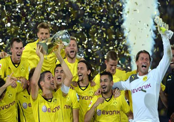 dortmund beats bayern 4 2 in german super cup