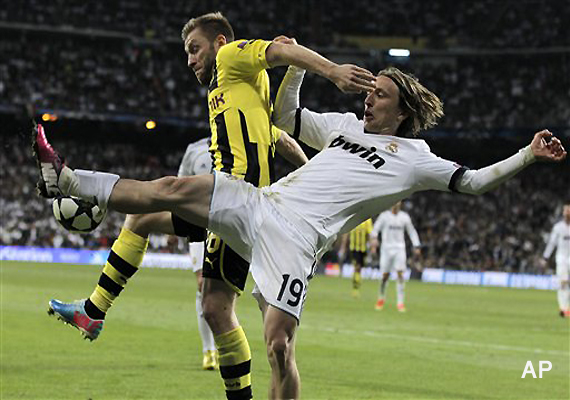 Cl Dortmund Real Madrid