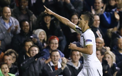 lamela s outrageous goal illuminates europa league