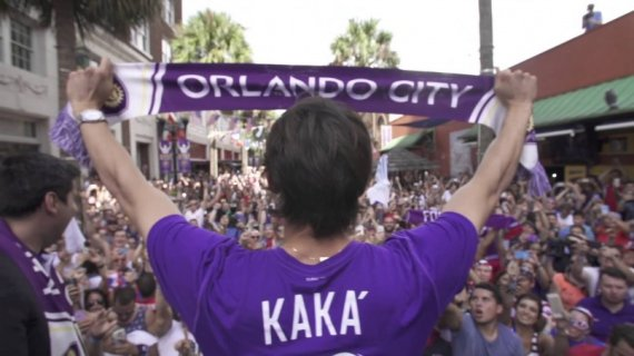 kaka to debut for orlando city in a friendly