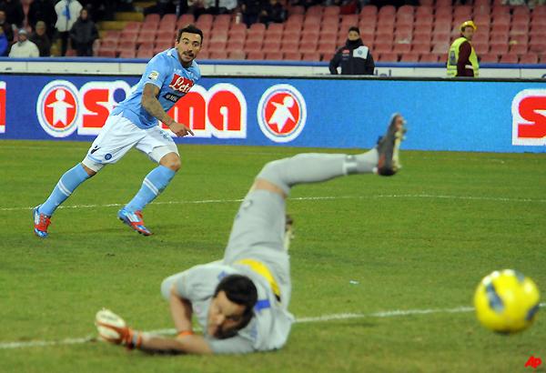lavezzi gives napoli 1 0 win over inter in serie a
