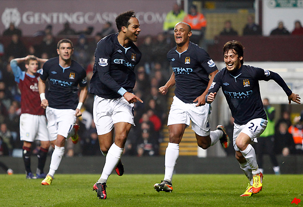 lescott grabs winner for man city at villa