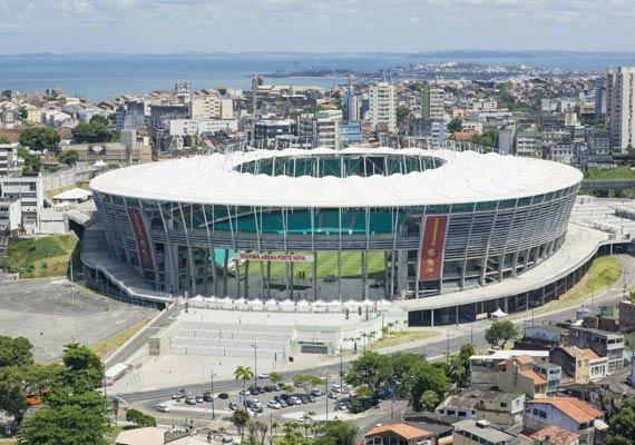salvador stadium faces last minute preparations