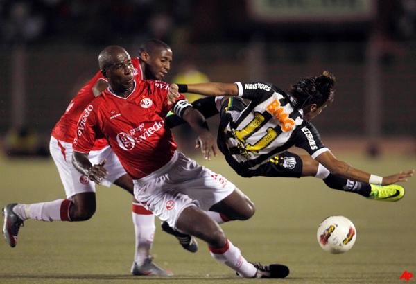 santos beats juan aurich in copa libertadores