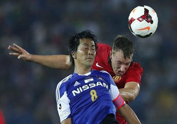yokohama beats man united in preseason friendly