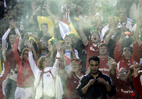 1 dead 3 seriously injured in brazil fan violence