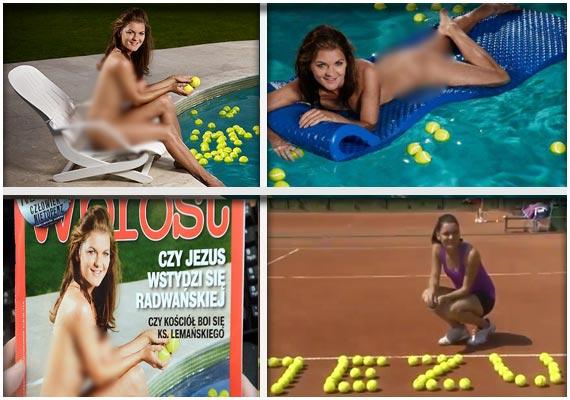 Radwanska nackt Agnieszka  Wimbledon 2016