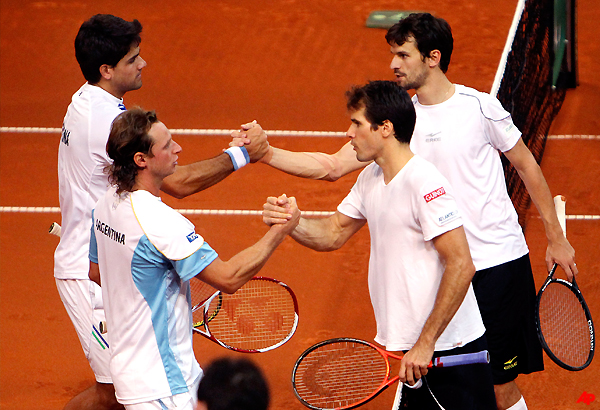 argentina beats germany 4 1 in davis cup