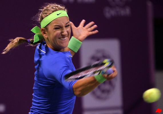 azarenka downplays racket over noise levels