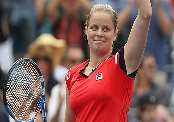 clijsters wins her 22nd consecutive us open match