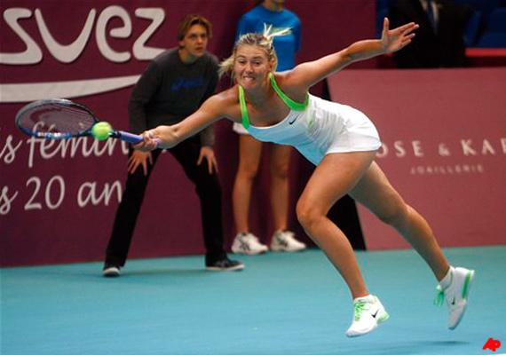 maria sharapova takes world no. 2 ranking