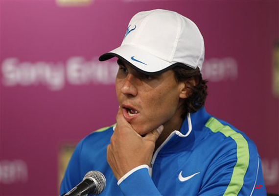 nadal withdraws from key biscayne with knee injury