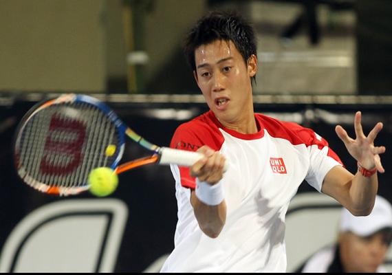 nishikori reaches 2nd round in argentina