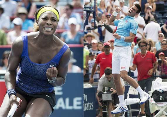Novak Djokovic Serena Williams Look To Bounce Back In Cincinnati Masters Tennis News India Tv