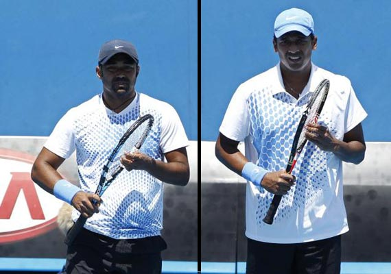 paes wins bhupathi knocked out of us open men s doubles
